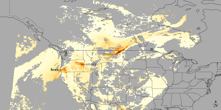 Mapping the Flow of Smoke