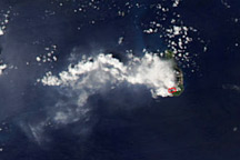 Soufriere Hills Volcano Resumes Activity