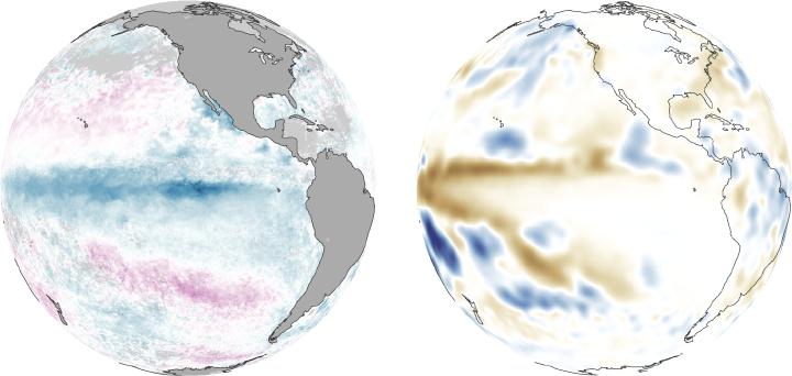 El Niño, La Niña, and Rainfall