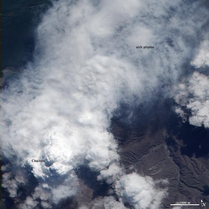 Chaiten Volcano, Chile