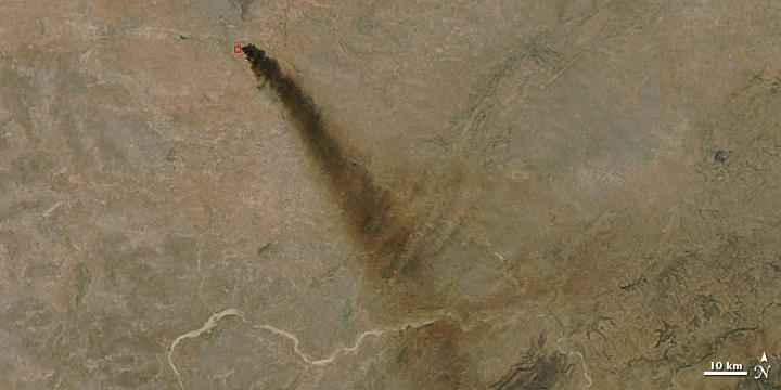 Oil Fire in India