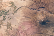 El Misti Volcano and Arequipa, Peru