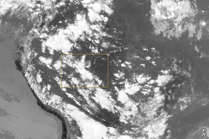 Thunderstorms on the Brazilian Horizon