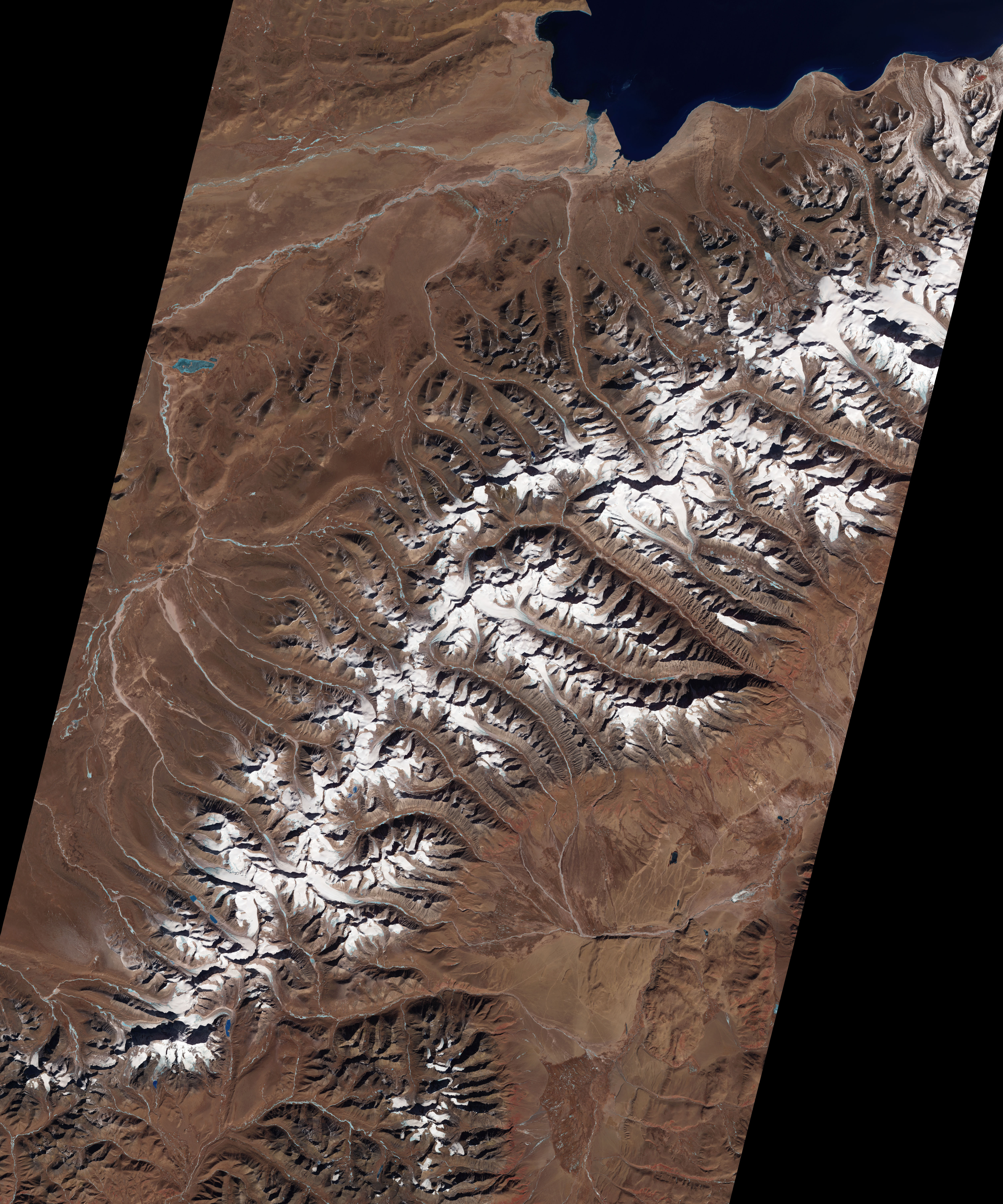 Glacier-capped Mountains in Tibet - related image preview