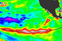 El Nino Resurging in November 2009 - selected image