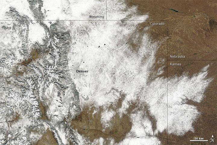 Mid-November Colorado Snowstorm