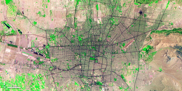 Tehran Urbanization
