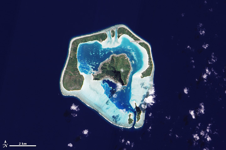 Maupiti Island : Image of the Day