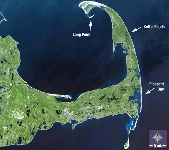 Cape Cod National Sea Shore: NASA Visible Earth: Cape Cod National Seashore