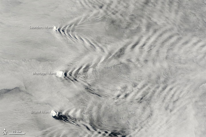 Wave Clouds from South Sandwich Islands