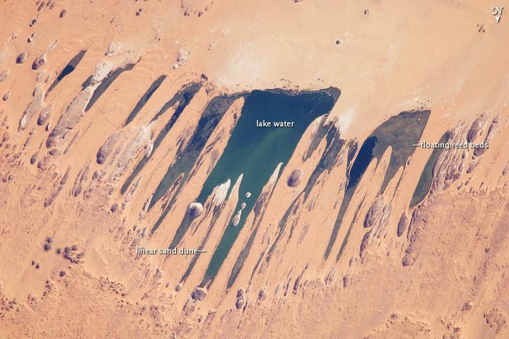 Ounianga Lakes, Sahara Desert, Chad