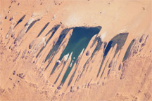 Ounianga Lakes, Sahara Desert, Chad - selected image