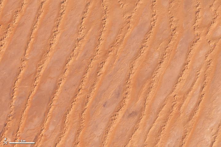 Erg Iabes, Algeria