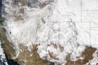 Winter Storm Crosses United States