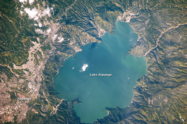 Lake Ilopango, El Salvador