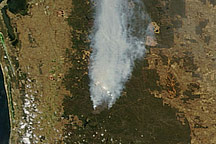 Fires near Perth, Western Australia