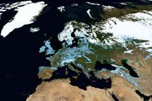 Terra Turns Ten: Snow, Clouds, and Sunlight