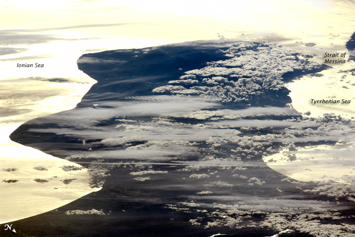 Cloud Formations and Sunglint, Italy - related image preview