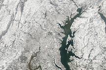 Snow Storm Buries the U.S. East Coast