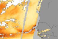 Terra Tracks Atlantic Dust Storms