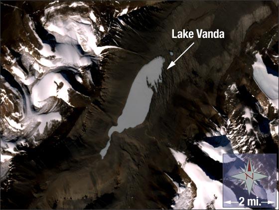 Lake Vanda, Antarctica - related image preview