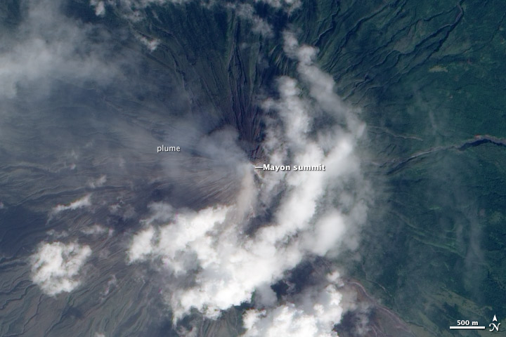 Mayon Volcano Threatens Major Eruption