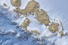 Earthquakes in the Solomon Islands, Pacific Ocean