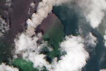Volcanic Plume, Gaua Volcano