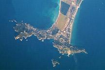 Giens Peninsula, France