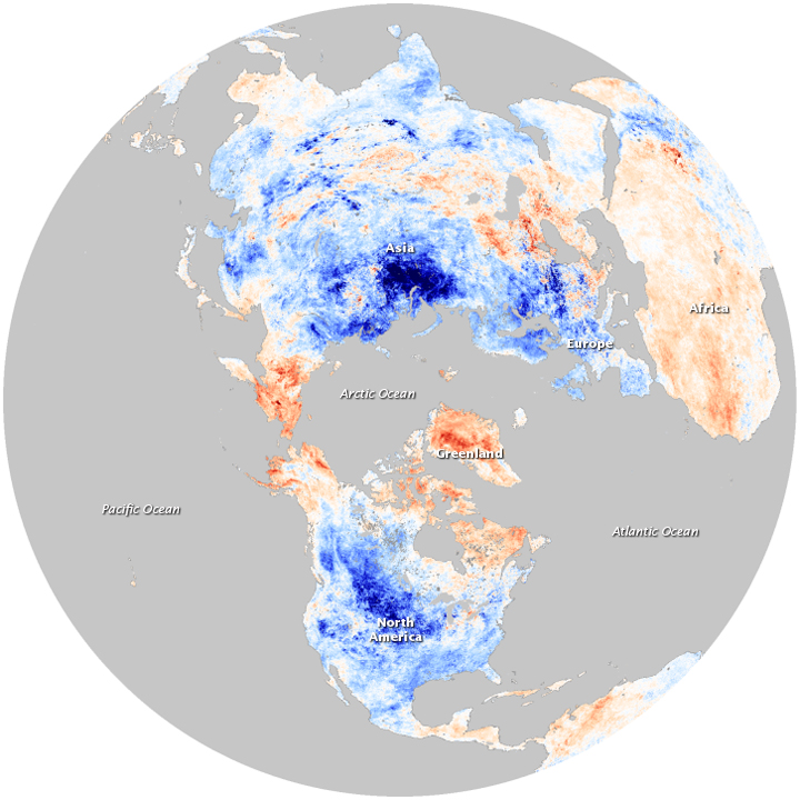 Winter Temperatures and the Arctic Oscillation