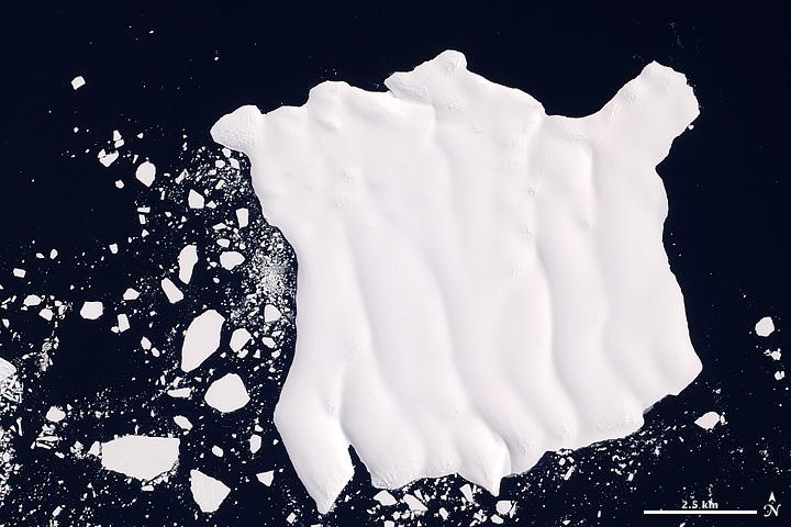 Iceberg off Mertz Glacier Tongue