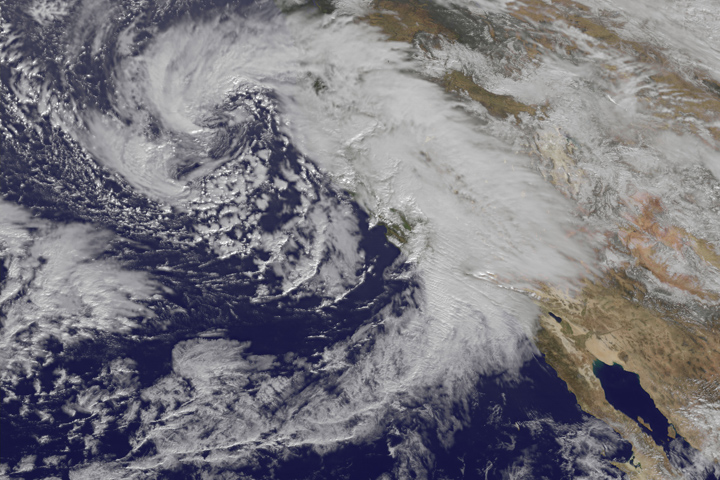 Storms in California