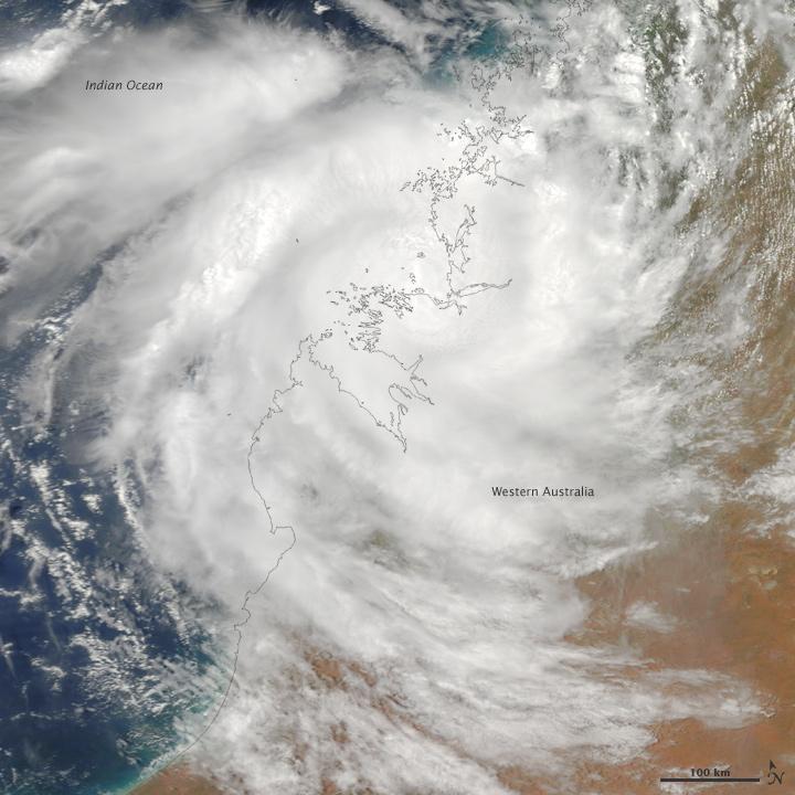 Cyclone Magda Comes Ashore