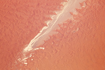 Tsauchab River and Sossus Vlei Lakebed, Namibia - related image preview