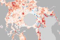 Melt Season in the Arctic Getting Longer
