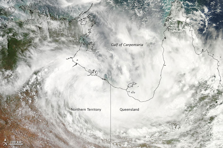Tropical Cyclone Olga
