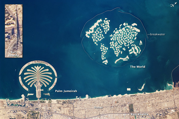 Artificial Archipelagos, Dubai, United Arab Emirates