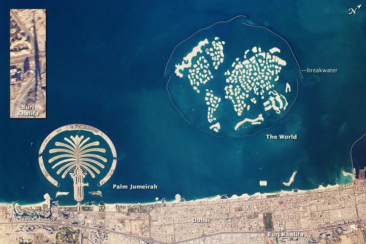 Artificial Archipelagos, Dubai, United Arab Emirates