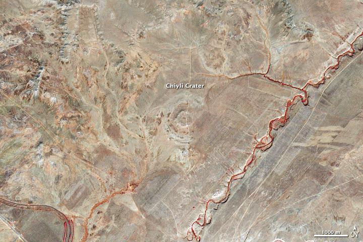Chiyli Crater, Kazakhstan