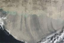 Dust over Iran