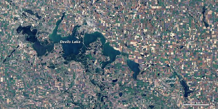 Devils Lake, North Dakota