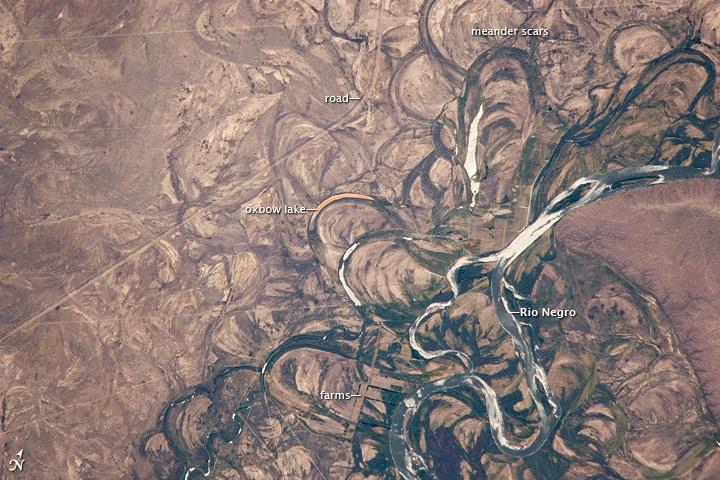 Rio Negro Floodplain, Patagonia, Argentina