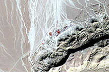 Alluvial Fans in Northeastern Egypt