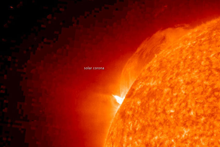 Coronal Mass Ejection in late January 2010