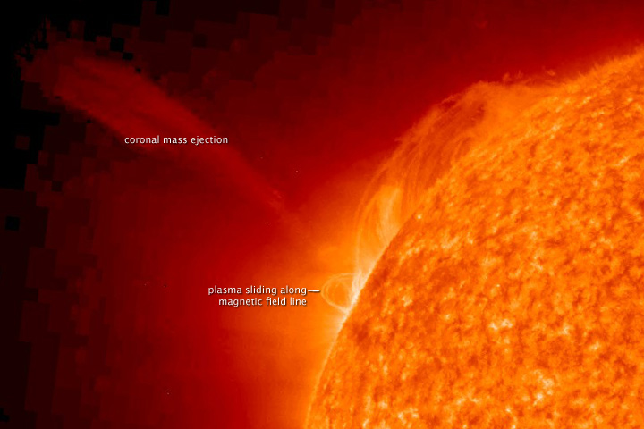 Coronal Mass Ejection in late January 2010 - related image preview