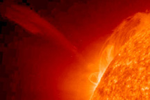 Coronal Mass Ejection in late January 2010 - selected child image