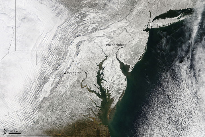 Second Blizzard Strikes U.S. East Coast