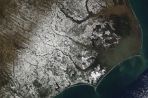 Snow in Coastal North Carolina