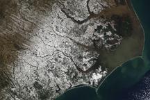 Snow in Coastal North Carolina