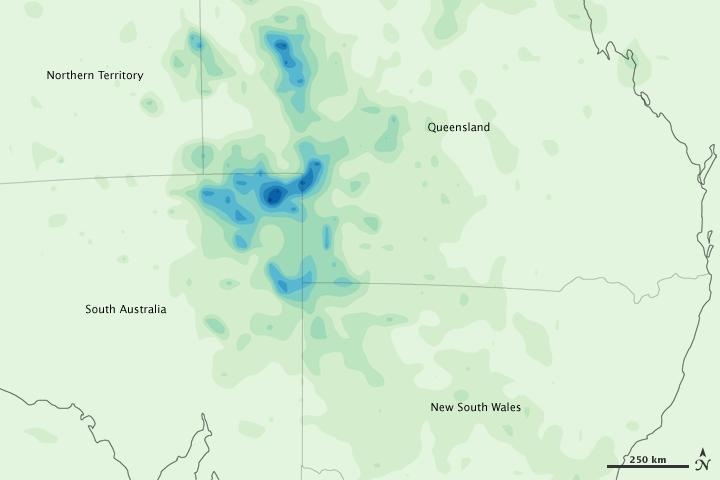 Heavy Rains in Central Australia